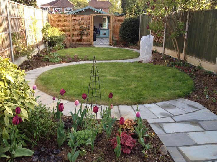 25 Best Ideas About Back Garden Landscaping On Pinterest Back