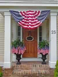 Patriotic porch   4th of July - Crafts/Decor   Pinterest ...
