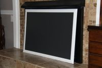 Extra Large, White Framed Chalkboard (27 1/4 x 39 1/4 ...