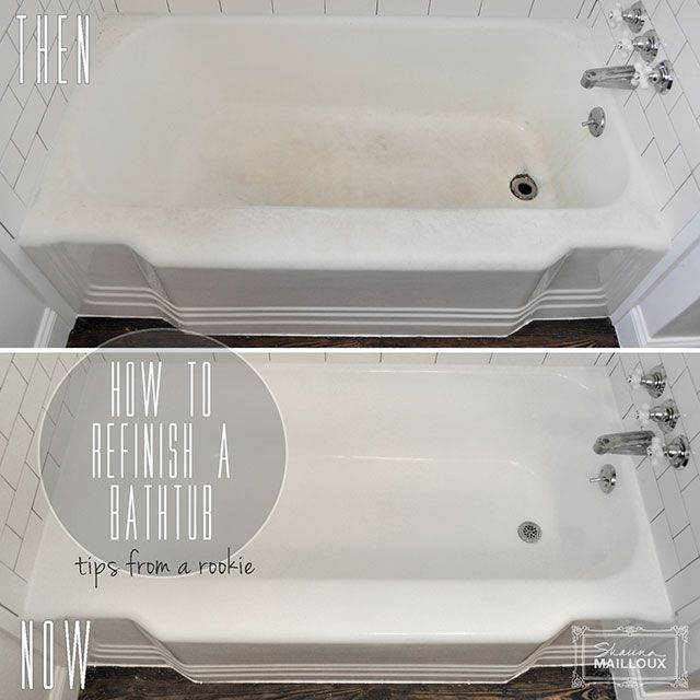DIY Bathtub Refinishing DIY Pinterest Epoxy Coating
