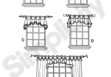 Sewing Curtains On Pinterest Valances Window