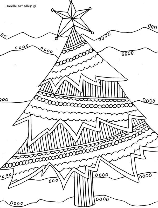 437 best images about Winter and Christmas Coloring