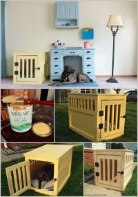 Build Your Own Dog Crate - WoodWorking Projects & Plans