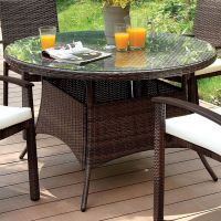 25+ best ideas about Contemporary outdoor dining tables on ...