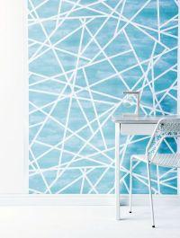 25+ best ideas about Blue geometric wallpaper on Pinterest ...
