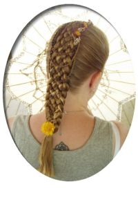 174 best images about Beautiful Braiding and Beading ...