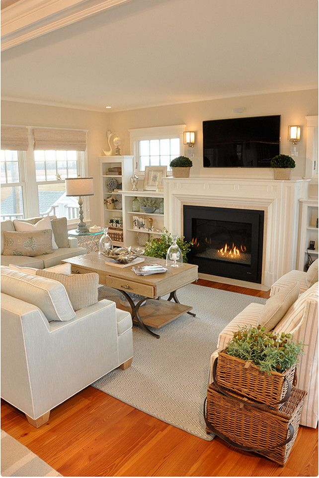 25 Best Ideas About Living Room With Fireplace On Pinterest