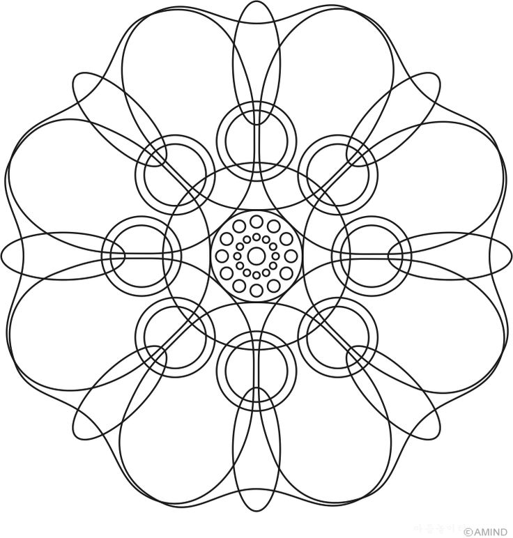 Best 255 mandalas pattern patrones images on Pinterest