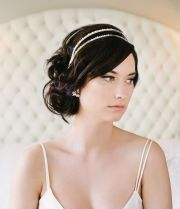 bridal hair accessory with complimentary