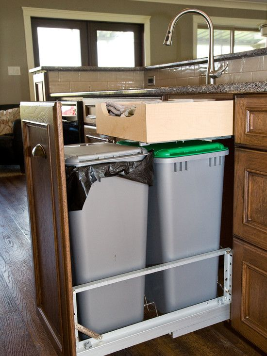 kitchen garbage can storage air gap 1000+ images about trash disposal bins/cabinets on ...