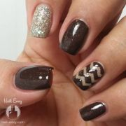 browning nails trending