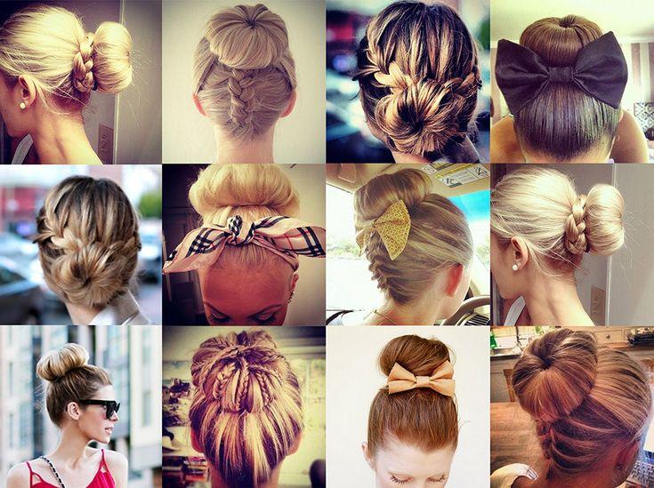 25 Best Ideas About Sock Bun Hairstyles On Pinterest Sock Bun
