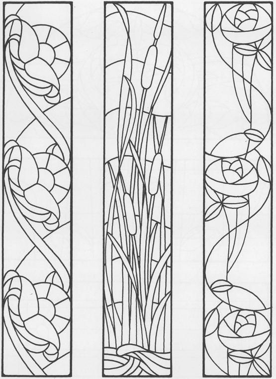 1697 best images about STAINED GLASS BOTANICALS on