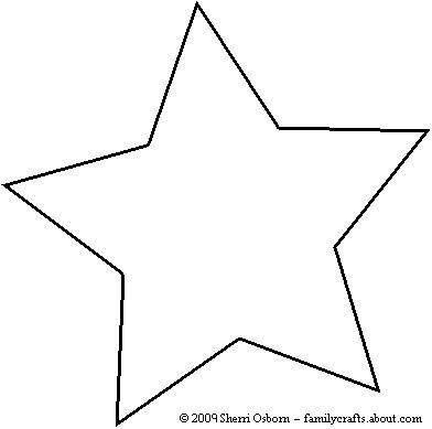 20+ best ideas about Star Template on Pinterest