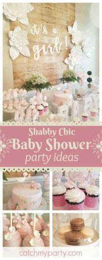 25+ best ideas about Shabby chic baby shower on Pinterest ...