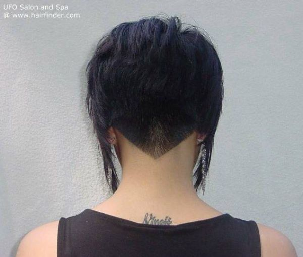 30 Short Hairstyles Back View Undercut Design Hairstyles Ideas