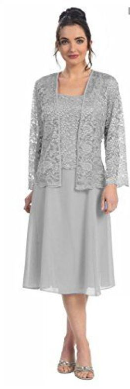 The Dress Outlet Women's Mother of the BrideShort Lace Jacket Plus Size Formal Cocktail Dress Silver 2X-Large The Dress Outlet http://www.amazon.com/dp/B00T86E1KM/ref=cm_sw_r_pi_dp_3CR2ub0M57NC9