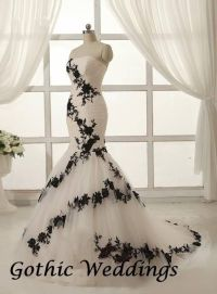 25+ best ideas about Gothic Wedding Dresses on Pinterest ...