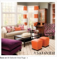 17 Best images about Orange, Lime & Purple decor on ...