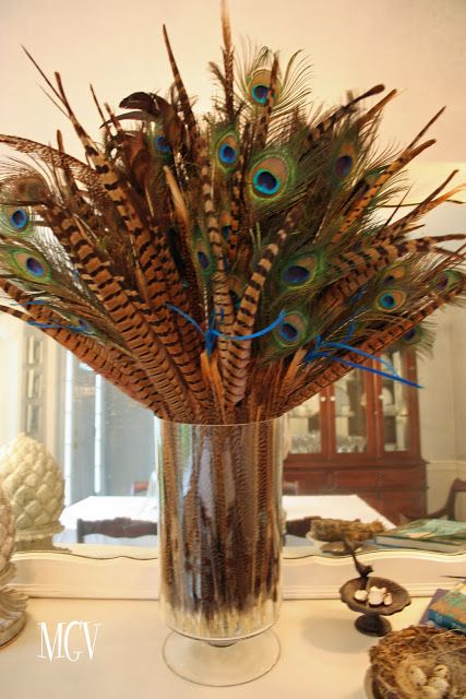 268 Best Images About Feathers For Home Decor On Pinterest