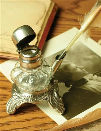 30 best images about Ink wells wax seals  quills on