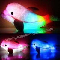 glow up pillow pet | LED Dolphin Shaped Light Up Pillow ...