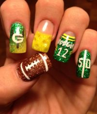17 Best ideas about Packer Nails on Pinterest | Green bay ...