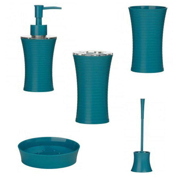 teal bathroom accessories sets - home design - mannahatta