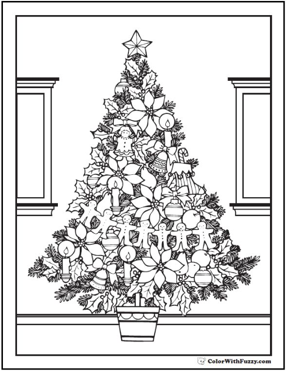 78 Best images about Christmas coloring on Pinterest