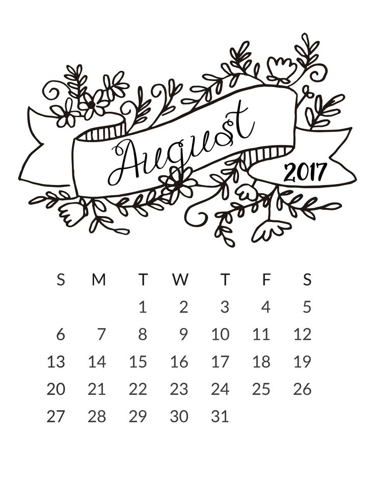 25+ best ideas about August calendar on Pinterest