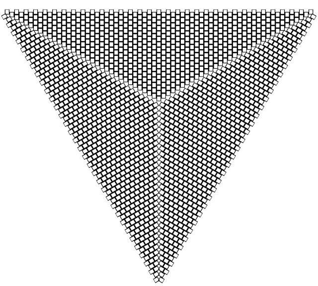 peyote triangle graph paper