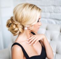Beautiful low bun wedding hairstyles, bridal hairstyles ...