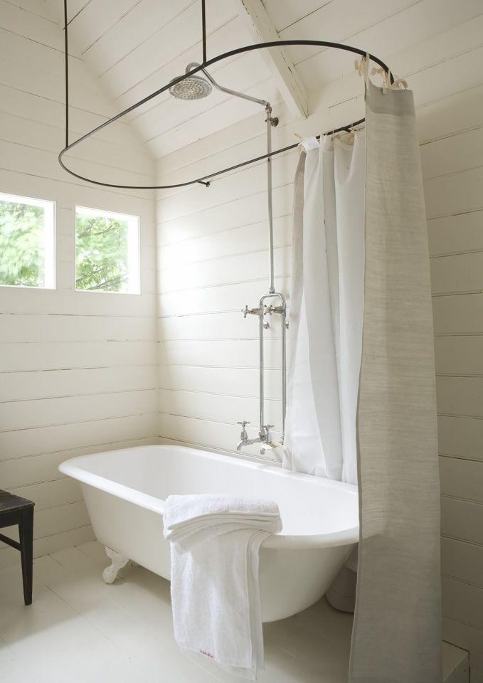Bathroom Haven Via Gardener Amp Marks Shower Curtain Rod