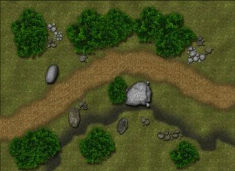 map rpg maps encounter road battle guild cartographers dnd wilderness fantasy terrain