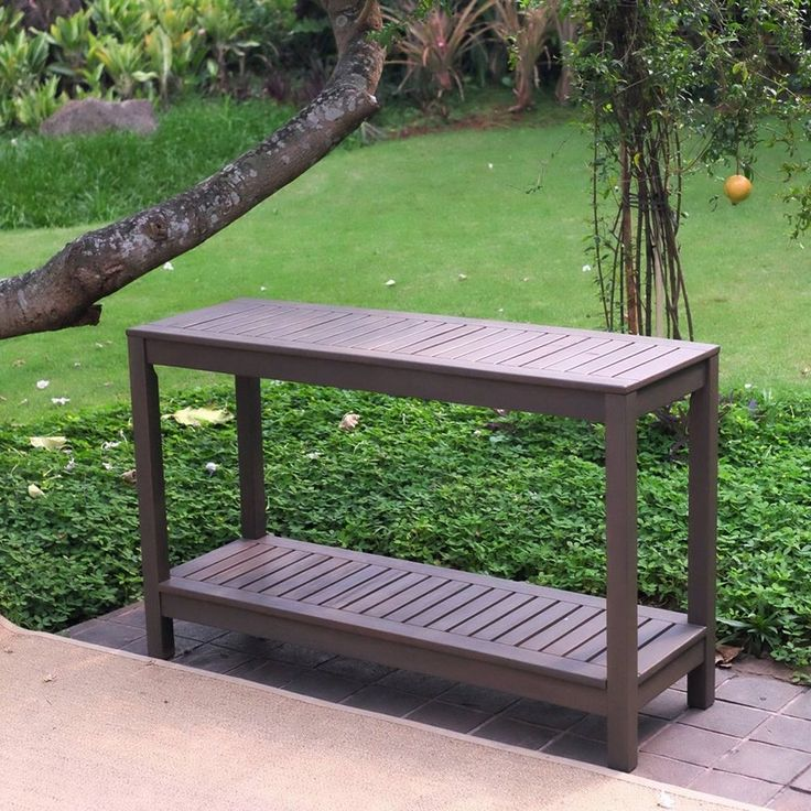 1000+ ideas about Outdoor Console Table on Pinterest