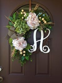 Only best 25+ ideas about Front Door Initial on Pinterest ...