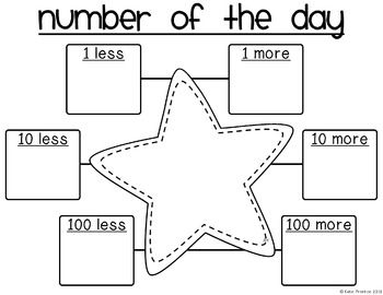 25+ best images about Number of the Day/Week on Pinterest
