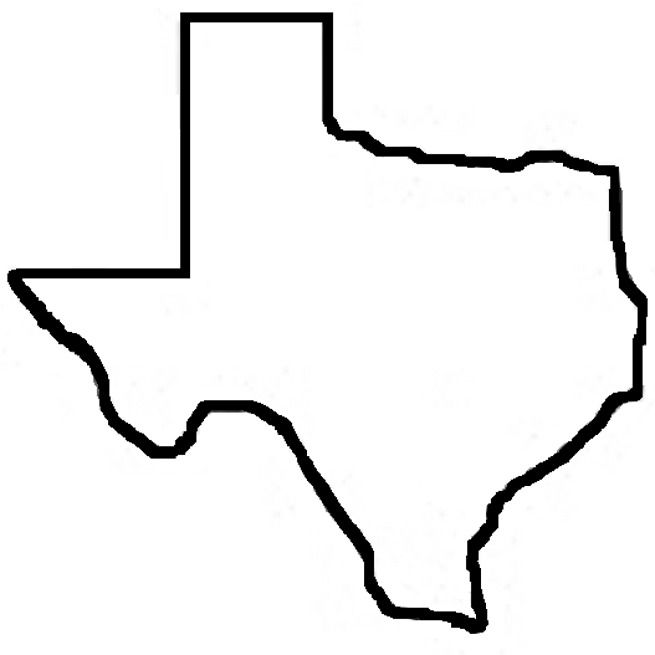 state of texas outline