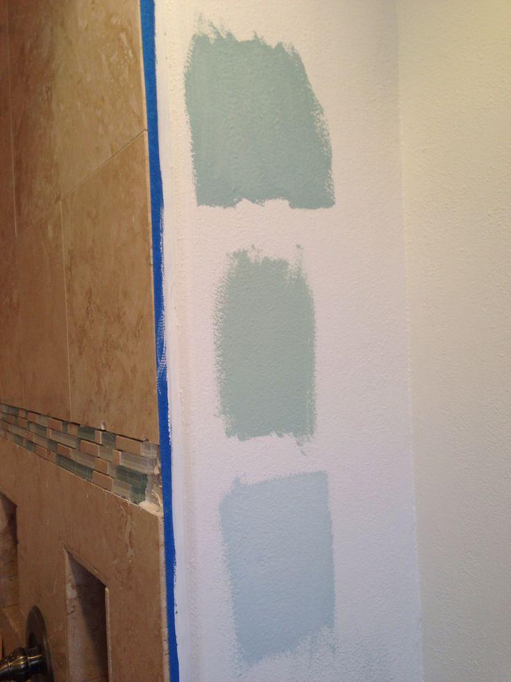 Top To Bottom Benjamin Moore Gossamer Blue Palladian