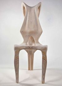 Exocarp Chair, Guillermo Bernal, chair design, biomimetic ...