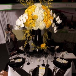 Are Chair Covers Necessary Wedding Desk Piston 44 Best Images About Yellow And Black Table Settings On Pinterest | Weddings, ...
