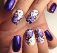 25+ Best Ideas about Butterfly Nail Designs on Pinterest ...