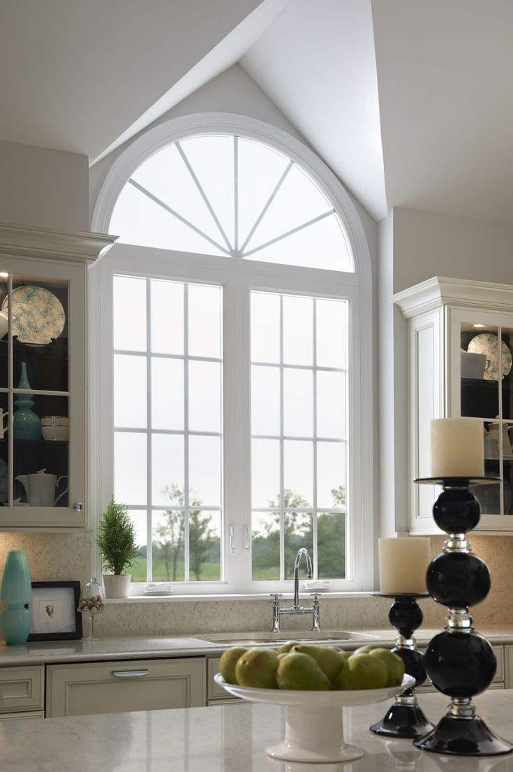 kitchen ceiling ideas espresso island add arch and grids to your home windows for a beautiful ...