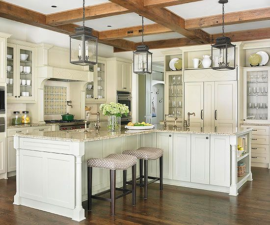 l shaped kitchen island with cabinets and design 25+ Best Ideas about L Shaped Island on Pinterest | Traditional l shaped kitchens, Large l