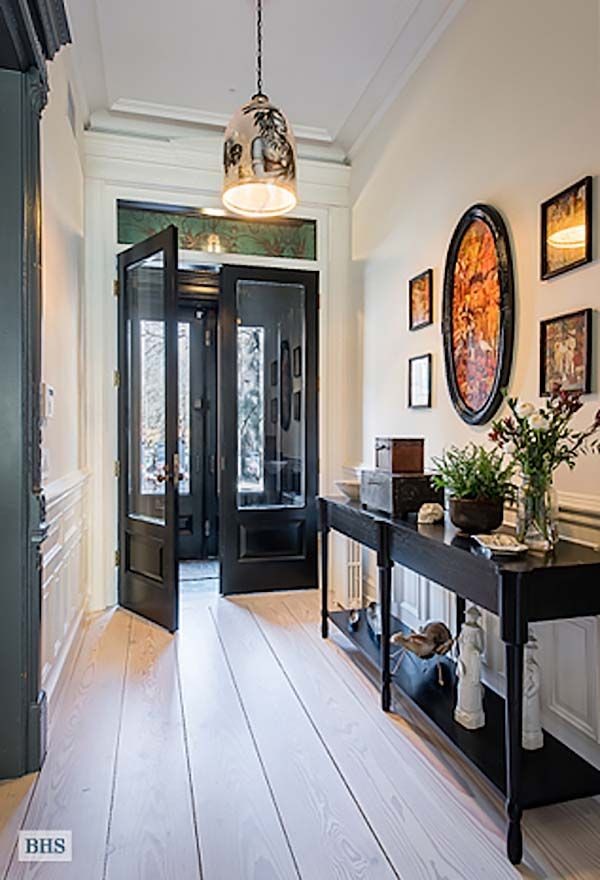 Romanesque Revival Row House Gets Modern Update In