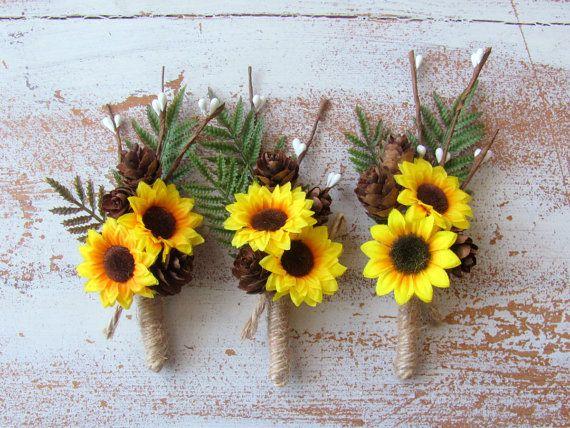 Best 20+ Fall Wedding Boutonniere Ideas On Pinterest