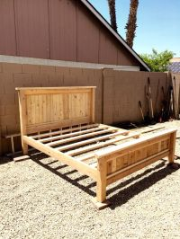 17 Best ideas about King Bed Frame on Pinterest | King ...