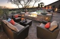 fire pit/hot tub combo | spa with firepit | Pinterest ...