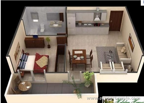 124 Best Images About Maquetas On Pinterest Bedroom Apartment