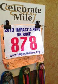 Running Medal holder and Running Race bib Holder ...
